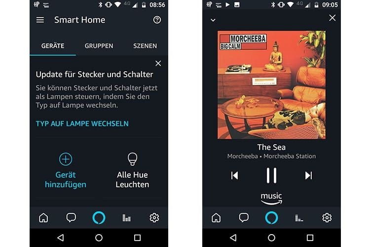 Das neue Alexa App Update erleichtert die Smartphone-Bedienung