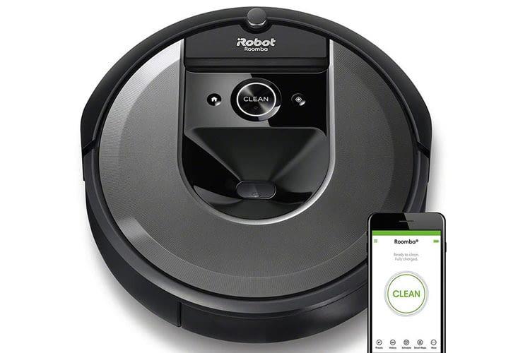 Neben der Bedienung über die iRobot HOME App ist der Saugroboter Roomba i7 auch über Sprachbefehl steuerbar