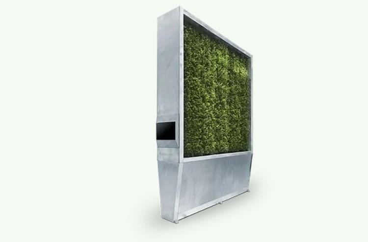 Die Slimline-Variante der CityTrees braucht nur einen Quadratmeter Stellfläche