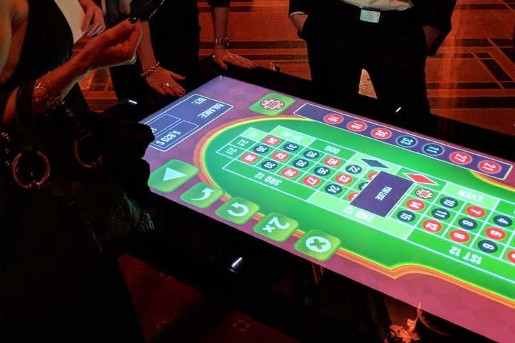 Die Multi Touch Produkte von Table Connect sind in 32 und 55 Zoll erhältlich