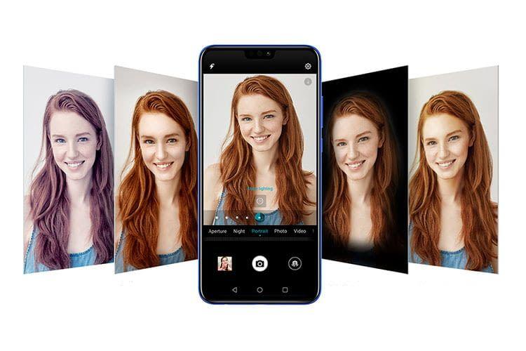Das Einsteiger-Smartphone Honor 8X bietet ein großes Display und KI-Unterstützung