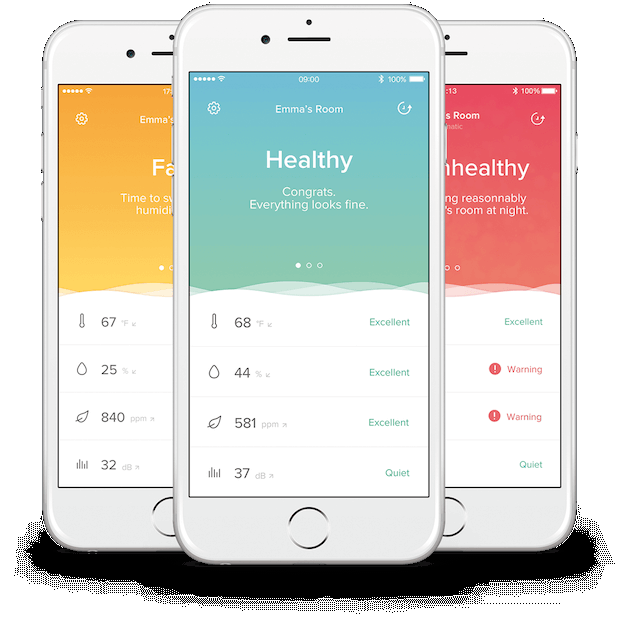 Netatmo Healthy Home Coach App