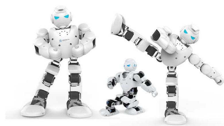 Abbildung des Alpha 1S Roboter von UBTECH