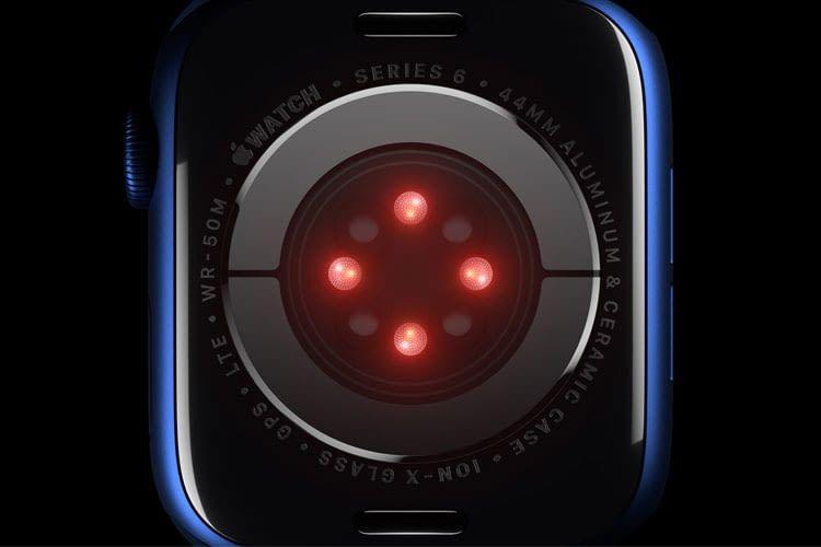 Das Alleinstellungsmerkmal der Apple Watch Series 6 ist die Messung des Blutsauerstoffgehalts