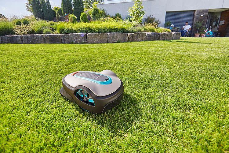 Die GARDENA SILENO life Mähroboter sind für mittelgroße Gärten ausgelegt