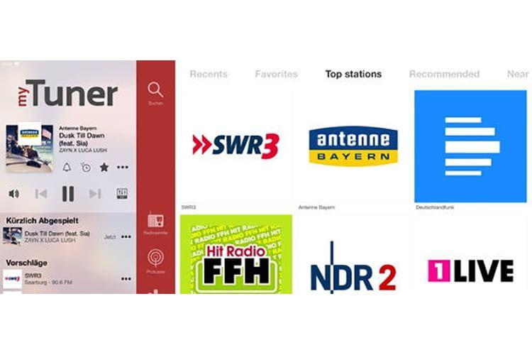 Radio über den Fernseher hören – ganz einfach mit einem Apple TV und der myTuner Radio App