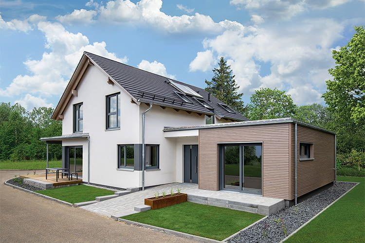 Hanse Haus Musterhaus in Fellbach: Hier können künftige Bauherren das Haus besichtigen und ihr Smart Home planen