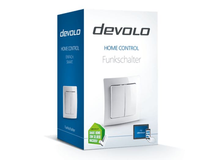 devolo Home Control Funkschalter