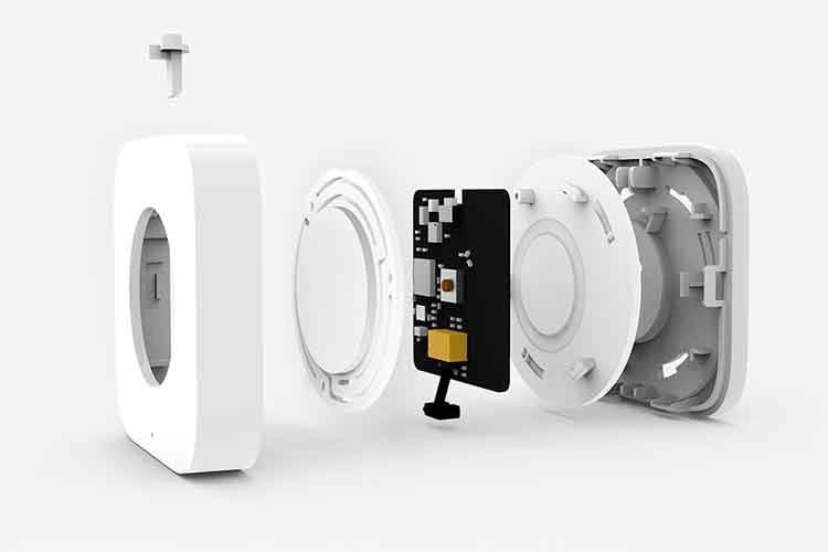 Im Inneren des Xiaomi Aqara Wireless Mini Switch kommt der ZigBee Funkstandard zum Einsatz - das sorgt für Reichweite