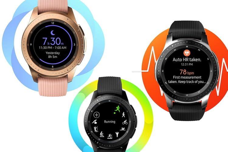 Die Funktionen der Galaxy Watch unterstützen Fitness, Wohlbefinden und die Tagesorganisation