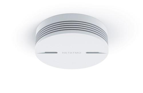 Netatmo smarter Rauchmelder ist kompatibel mit HomeKit @ netatmo.com