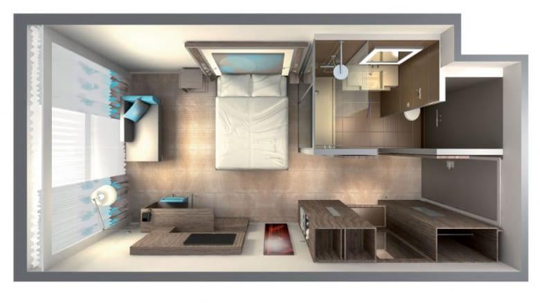 Das Starterset von Pariot ist super geeignet für ein Zimmer oder eine Ein-Zimmer-Wohnung