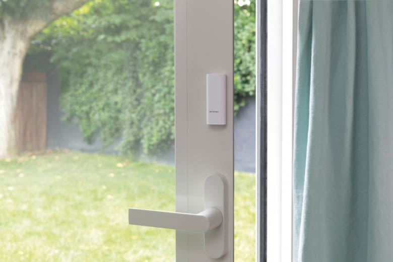 Zubehör der Welcome Kamera: Netatmo Tags. Kompakte Sensoren für Türen oder Fenster!