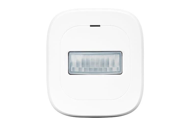 Der Bewegungsmelder registriert jede Bewegung und meldet diese an die MEDION Smart Home-Zentrale