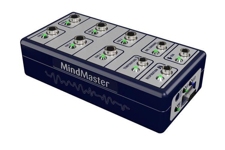 Die MindMaster Bio-Serie von Mindfield wird für reines Biofeedback eingesetzt