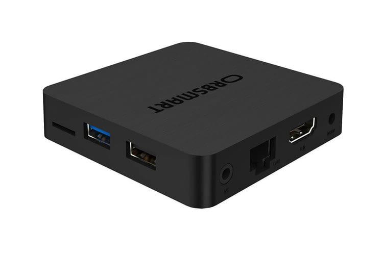 Die Orbsmart S85 Streaming Box bietet alles was für das Heim-Streaming mit eigenen Multimedia-Dateien nötig ist