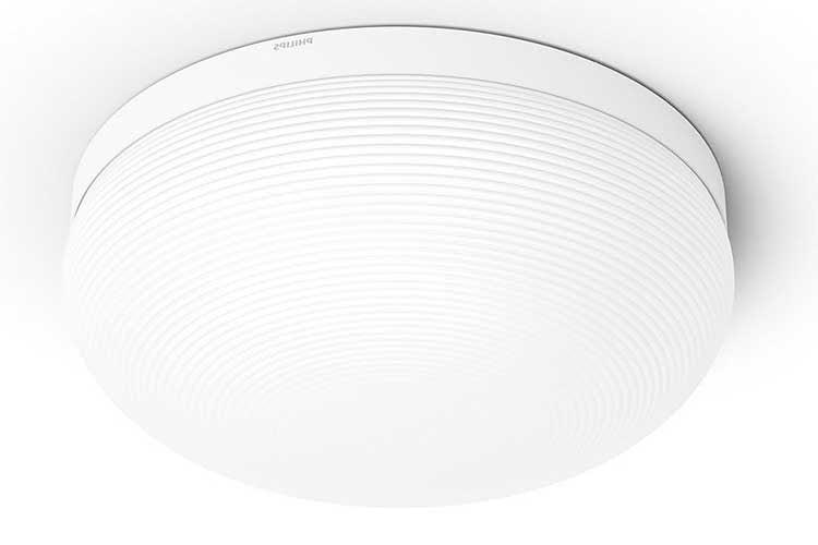 Die Philips Hue White and Color Deckenleuchte Flourish unterstützt ZigBee und Bluetooth