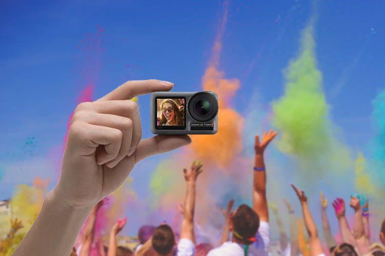 Mit ihren zwei Bildschirmen ist diese Actioncam die richtige Lösung für Selfie-Fans