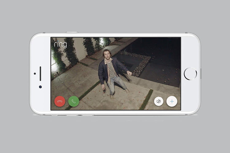 Per Ring App ist überall der Abruf von Live-Bildern möglich