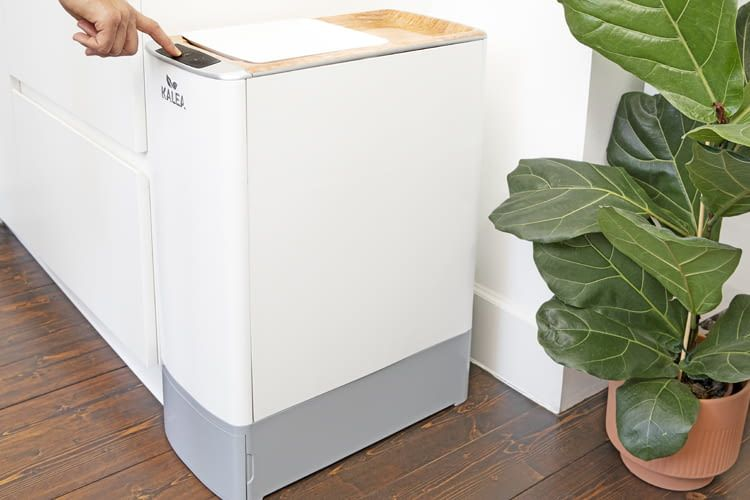 Der Komposter von KALEA soll zum Markteinstieg 899 Euro kosten