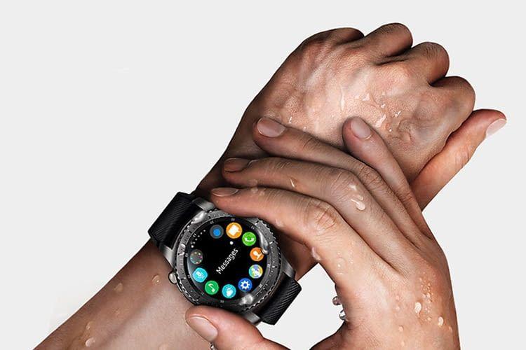 Intuitiv bedienbar, wasser- und staubfest: Samsung Gear S3 frontier