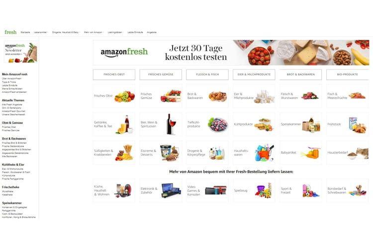 Bisher sind sich die Tester noch nicht einig, ob AmazonFresh benutzerfreundlich ist oder nicht