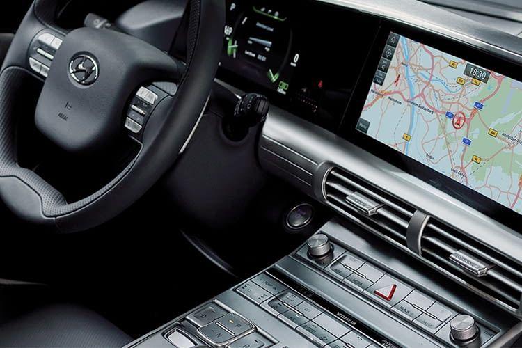 Das Cockpit des Hyundai Nexo - mit beheizbarem Lenkrad