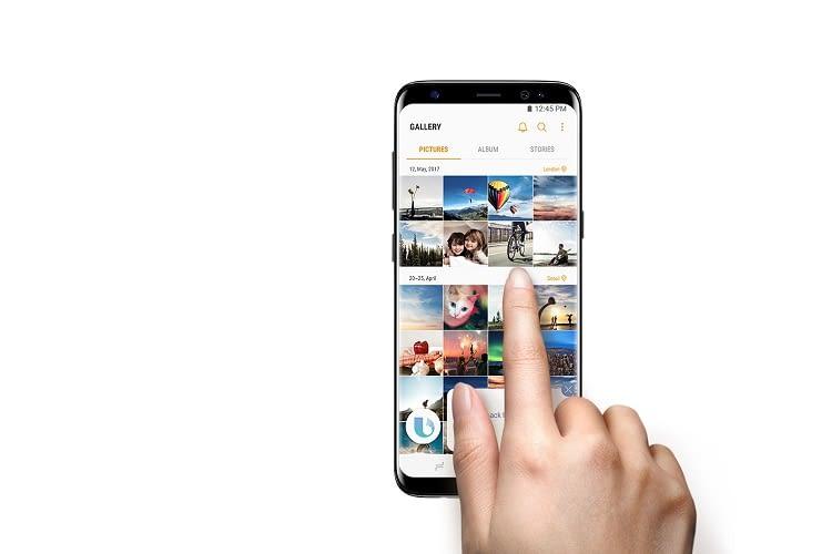 Mit Bixby können auch Bilder(galerien) verwaltet werden