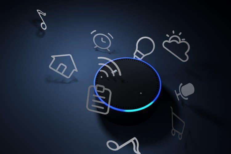 Über Alexa können alle smarten Amazon Echo Lautsprecher Lieblingsmusik wiedergeben