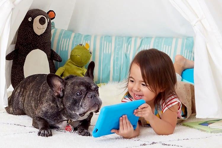 Mit einem Fire Tablet aus der Kids Edition ist Abwechslung vorprogrammiert