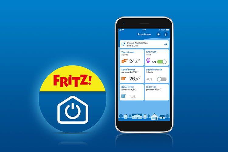 Zukünftig werden die AVM Smart Home Geräte mit der FRITZ!App Smart Home gesteuert