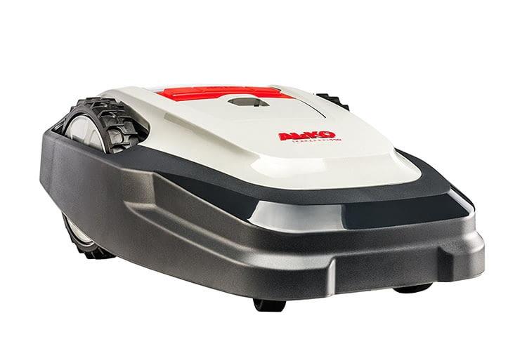 Der AL-Ko Robolinho 110 Mähroboter bietet viele Extras wie Randmähen und Multizonenprogramm