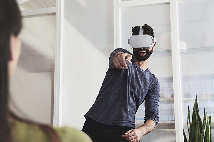 Oculus GO verspricht im Gegensatz zu Oculus Rift kabellosen Spielspaß