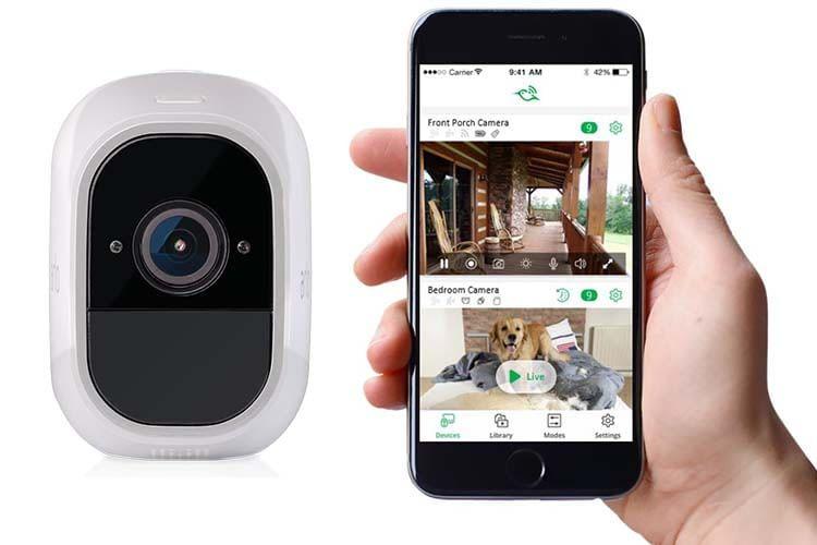 Hält per App auf dem Laufenden - Netgear Arlo Pro 2 Überwachungskamera