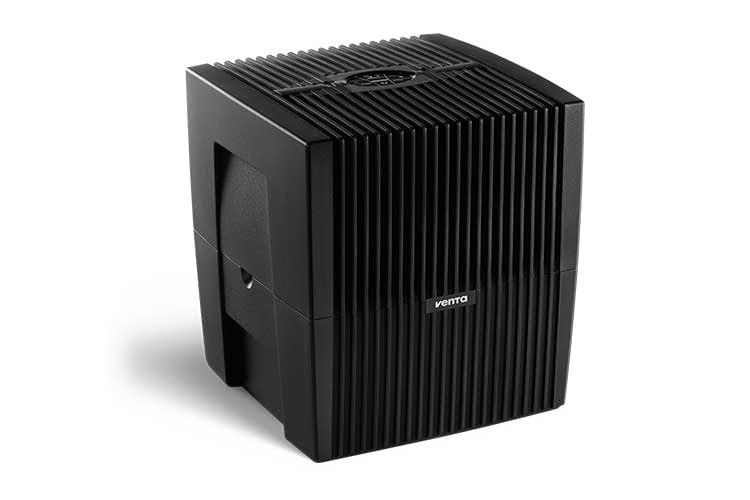 Der Venta Comfort Plus LW25 kann über ein auf der Oberseite integriertes Touchdisplay bedient werden