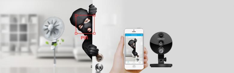 Foscam C2 HD IP Sicherheitskamera