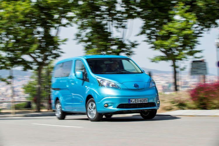 Der Nissan e-NV200 Evalia als Stromer für die ganze Familie.