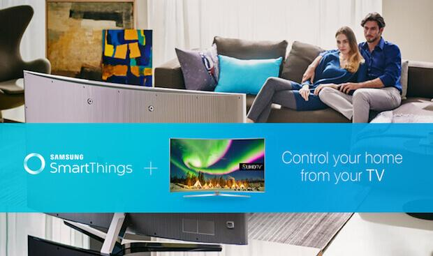 Samsung SmartThings TV - Den Samsung Smart TV als Smart Home Hub nutzen