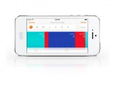 Netatmo iphone Darstellung