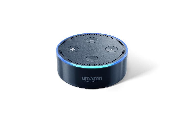 Der Echo Dot kann zum Beispiel Musik von Spotify streamen