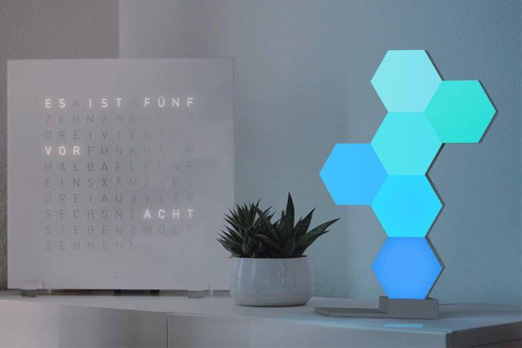 Mit Cololight lässt sich auch eine freistehende Lichtskulptur erschaffen
