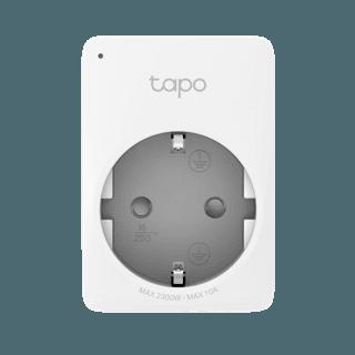 Mini Steckdose Tapo P100: Das LED-Lämpchen oben links gibt den Betriebszustand wieder