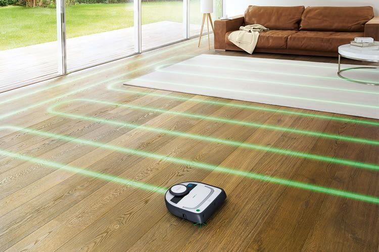 Der VR200 gehört zu den Modellen mit praktischer Lasernavigation