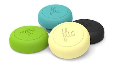 Flic Wireless Smart Button in verschiedenen Farben