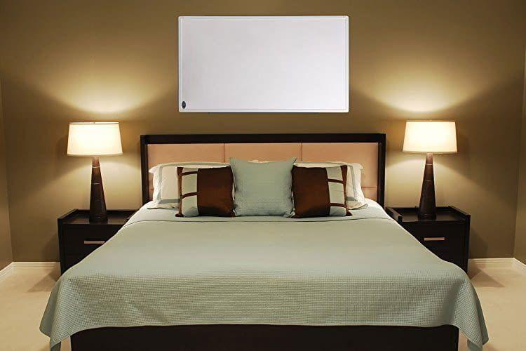 infrarot heizung test bersicht 2019 kaufberatung und preise. Black Bedroom Furniture Sets. Home Design Ideas