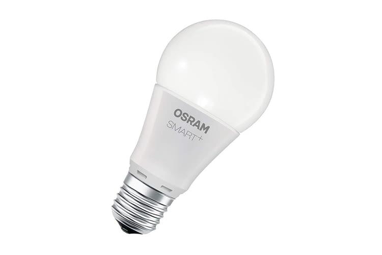 Ohne Osram-Bridge kompatibel mit Amazon Echo, Google Assistant, Philips Hue und Co.: Die Osram Smart+ LED