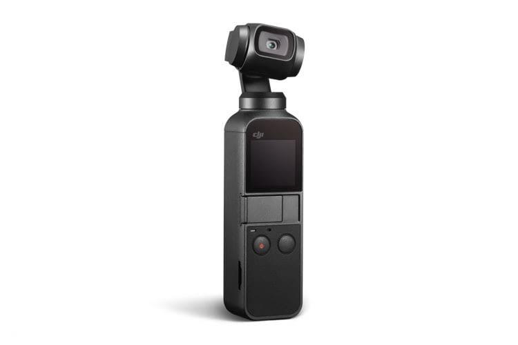 Passt in die Hosentasche und ist per Knopfdruck einsatzbereit: DJI OSMO POCKET Kamera-Gimbal