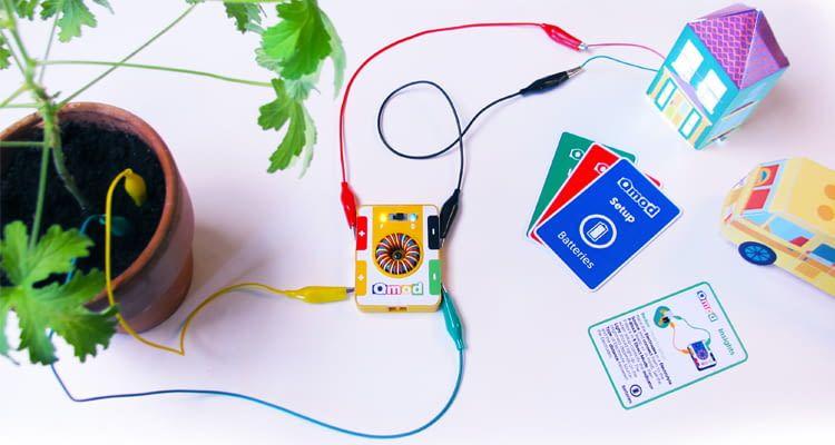 Stromkreis erstellen und eigene Energie erzeugen - mit der Topfpflanze
