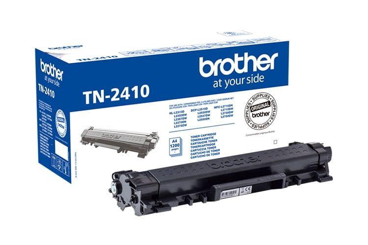 Der Mono-Laserdrucker Brother HL-L2350DW benötigt die Original-Tonerkartusche Brother TN-2410