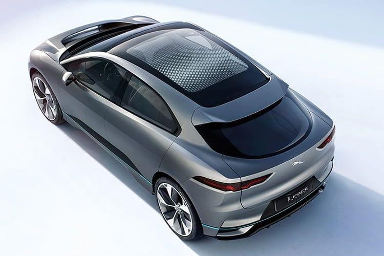 Ab Sommer 2018 erhältlich und bei uns auf Platz 5: der Jaguar I-PACE